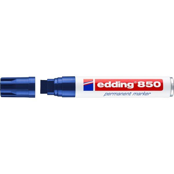 Edding 850 Permanent Marker, blå