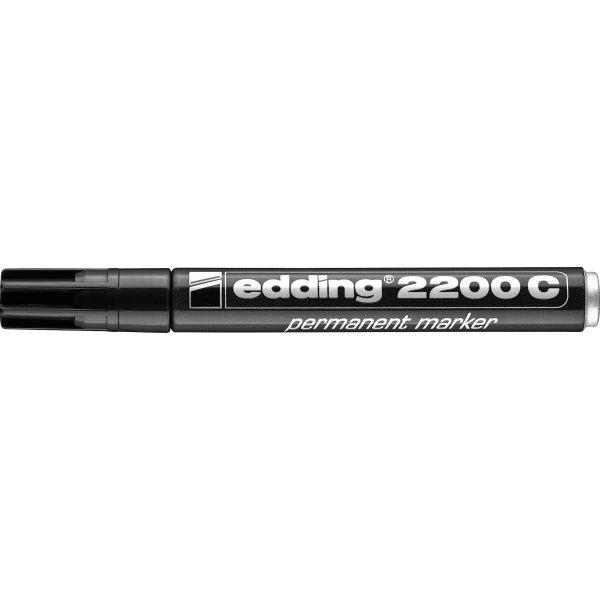Edding 2200C Permanent Marker, sort