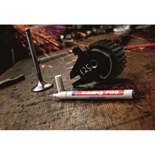 Edding 780 Paint Marker, sølv