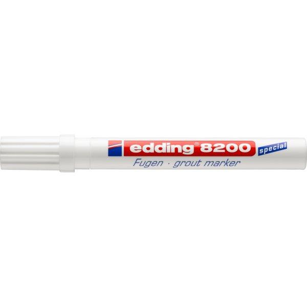 Edding 8200 Fuge Marker, hvid