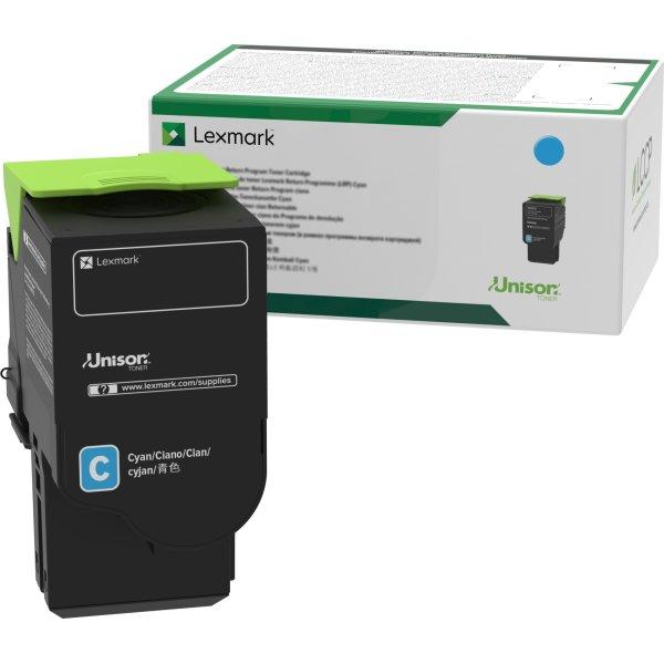 Lexmark C2320C0 lasertoner, cyan, 1.000s