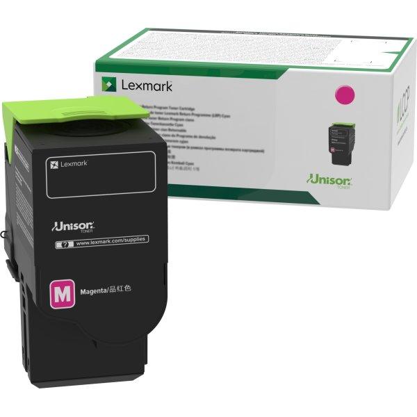 Lexmark C2320M0 lasertoner, magenta, 1.000s