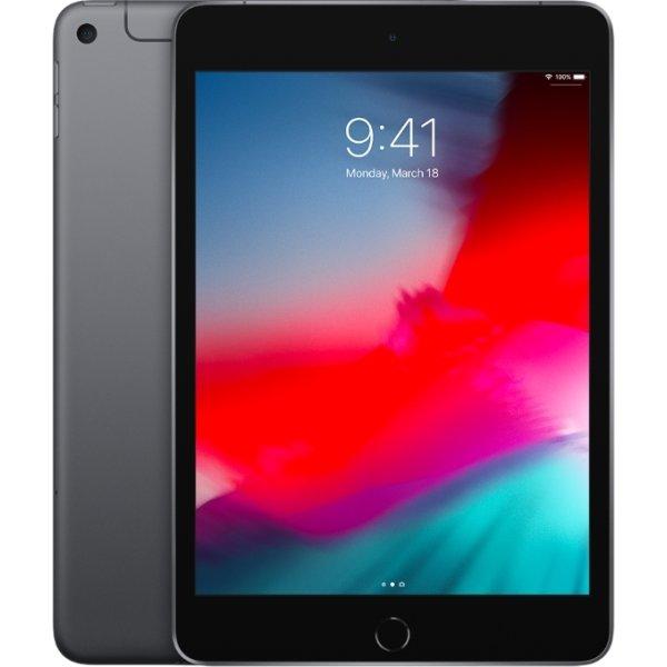 Apple iPad Mini, 256GB, Wi-Fi+Cellular, Space Grey