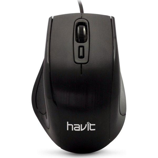 Havit Proline HV-MS676 mus, sort