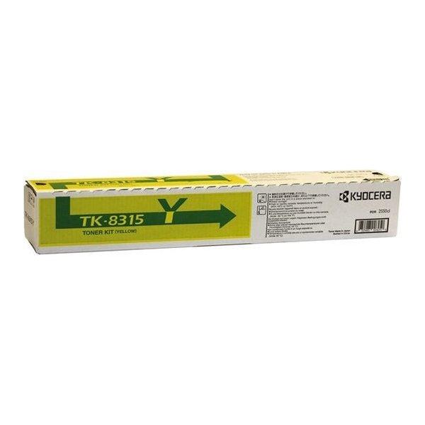 Kyocera TK-865Y Lasertoner Gul