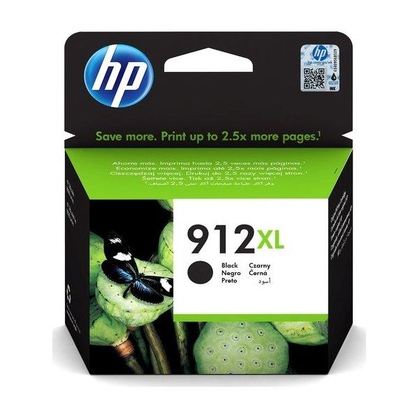 HP nr. 912/3YL84AE#BGX XL blækpatron, sort