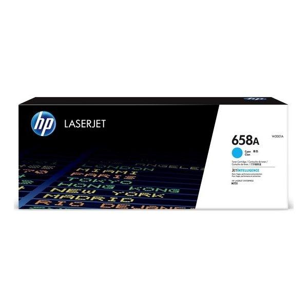 HP Color LaserJet 658A lasertoner, cyan