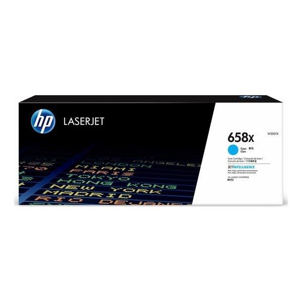HP Color LaserJet 658X lasertoner, cyan