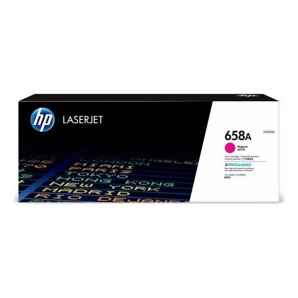 HP Color LaserJet 658A lasertoner, magenta