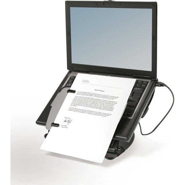 Fellowes Professionel laptop stander, sort