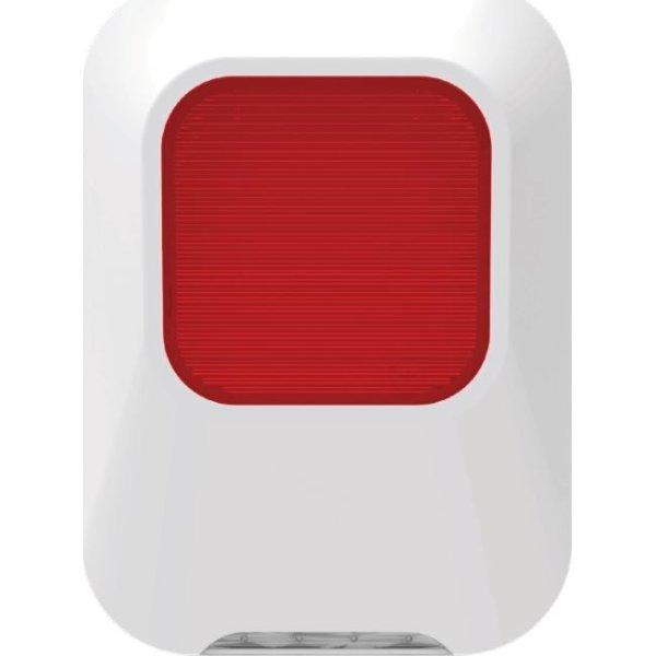 SikkertHjem S6evo indendørs sirene med flash, 90dB