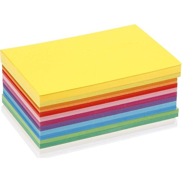 Colortime Forårskarton, A5, 180g, 300 ark, ass.