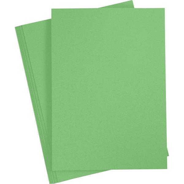 Paper Concept Karton, A4, 180g, 20 ark, græsgrøn
