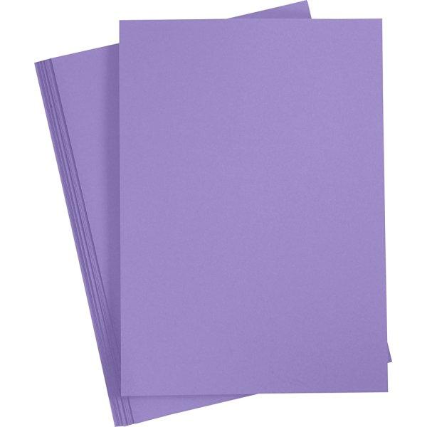 Paper Concept Karton, A4, 180g, 20 ark, lilla