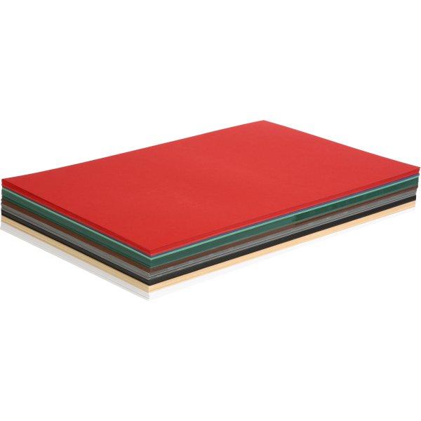 Colortime Julekarton, A3, 180g, 300 ark, ass.