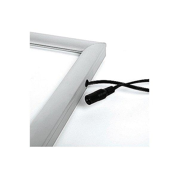 Snap-frame enkeltside LED ramme , 50 x 70 cm