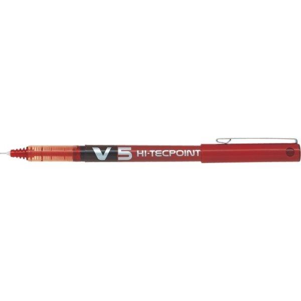 Roller Pilot HI-TEC BX-V5, rød