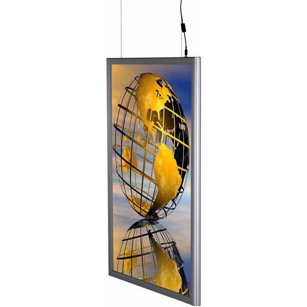 Snapframe 2. sidet LED ramme , 50x70 cm, Vertikal