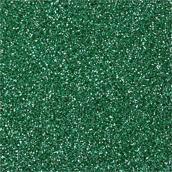 Glitterdrys, grøn, 20 g
