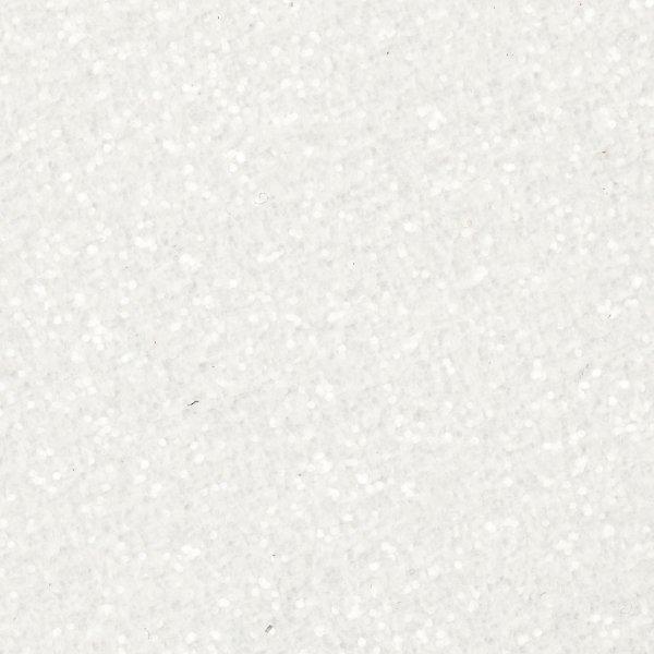 Glitterdrys, hvid, 20 g