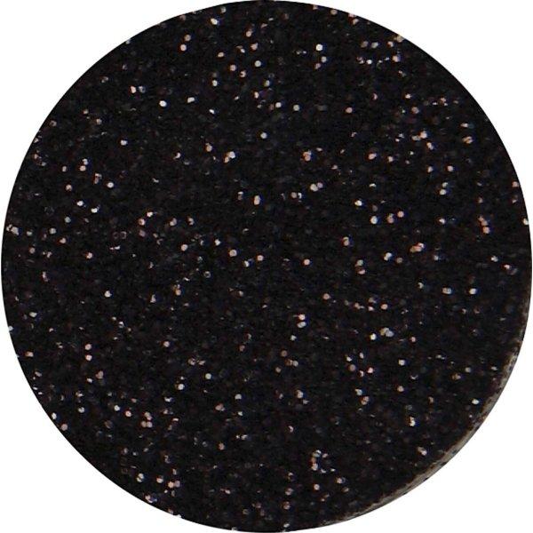 Glitterdrys, sort, 110 g