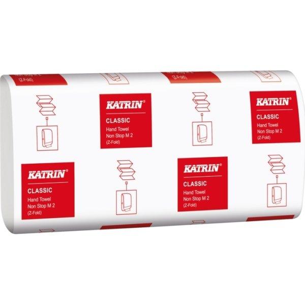 Katrin Classic M håndklædeark, 2-lags, hvid
