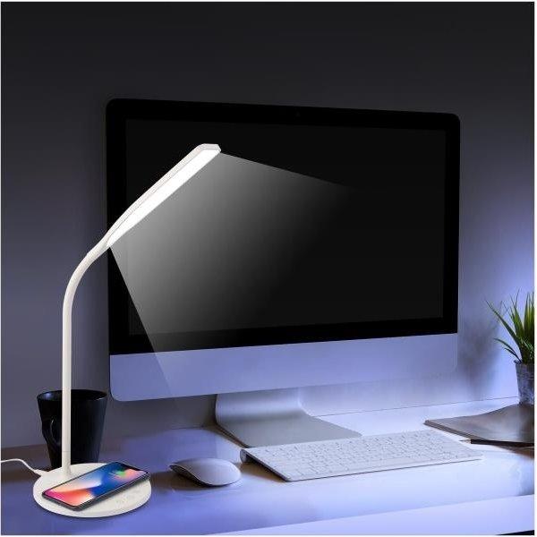 Celly Flex bordlampe m. trådløs opladning