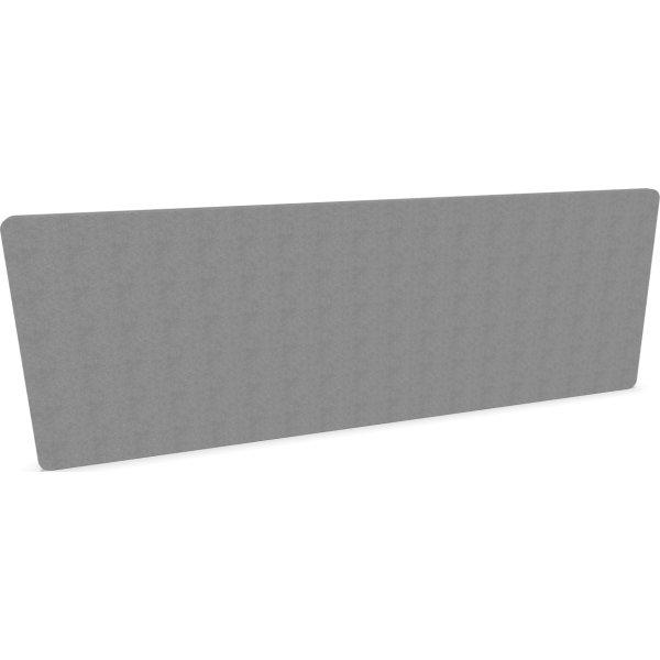 Silent Express bordskærmvæg, 180x65 cm, lysegrå