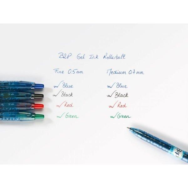 Pilot Begreen Bottle 2 Pen gelpen 0,7mm, blå