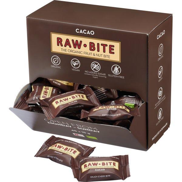 Rawbite Cacao Officebox, 45 bites á 15 g