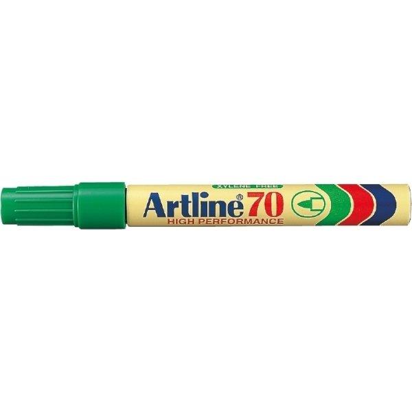 Artline EK70 marker, grøn
