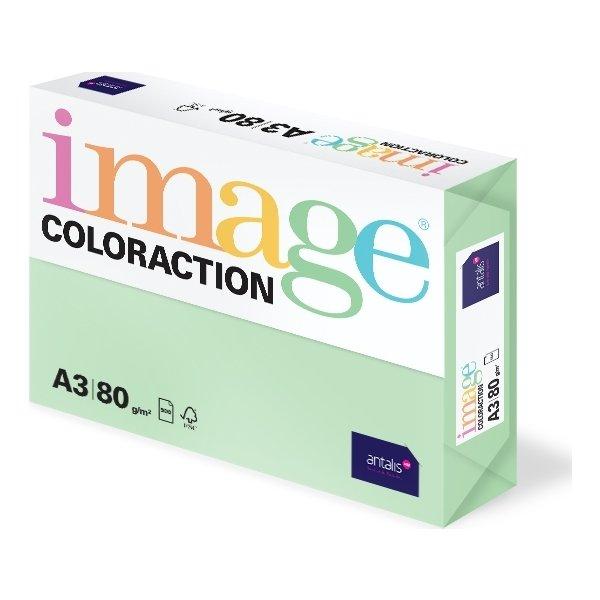 Image Coloraction A3, 80g, 500ark, enggrøn
