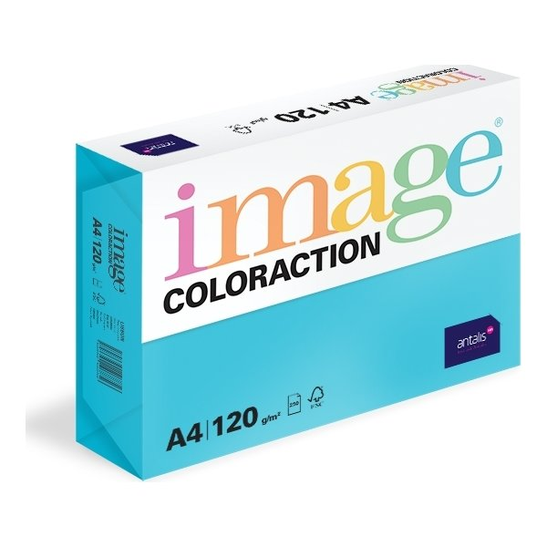 Image Coloraction A4, 120g, 250ark, turkis