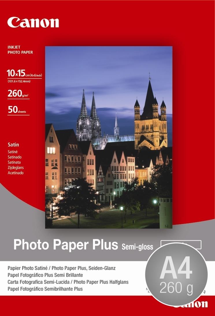 Canon SG-201 halvblank inkjetfoto, A4/260g/20ark