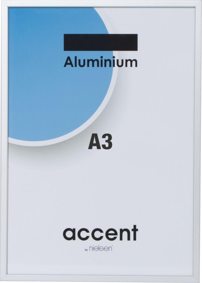 Accent Skifteramme A3, sølv
