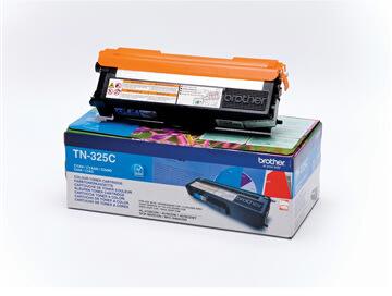 Brother TN325C lasertoner, blå, 3500s