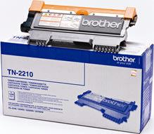 Brother TN2210 lasertoner, sort, 1200s