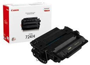 Canon nr.724H/3482B002AA lasertoner, sort, 12500s