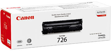 Canon nr.726/3483B002AA lasertoner, sort, 2100s