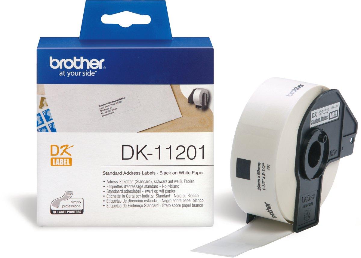 Brother standard adresse etiket 29x90 mm