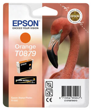 Epson nr.T0879/C13T08794010 blækpatron, orange, 90