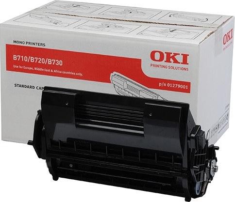 OKI 01279001 lasertoner, sort, 15000s