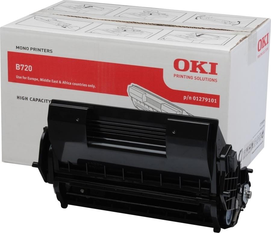 OKI 01279101 lasertoner, sort, 20000s