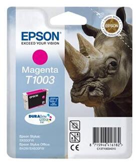 Epson nr.T1003/C13T10034010 blækpatron, rød, 800s