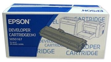 Epson C13S050167 lasertoner, sort, 3000s