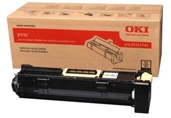 OKI 01221701 lasertromle, sort, 60000s