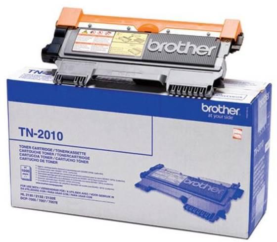 Brother TN2010 lasertoner, sort, 1000s