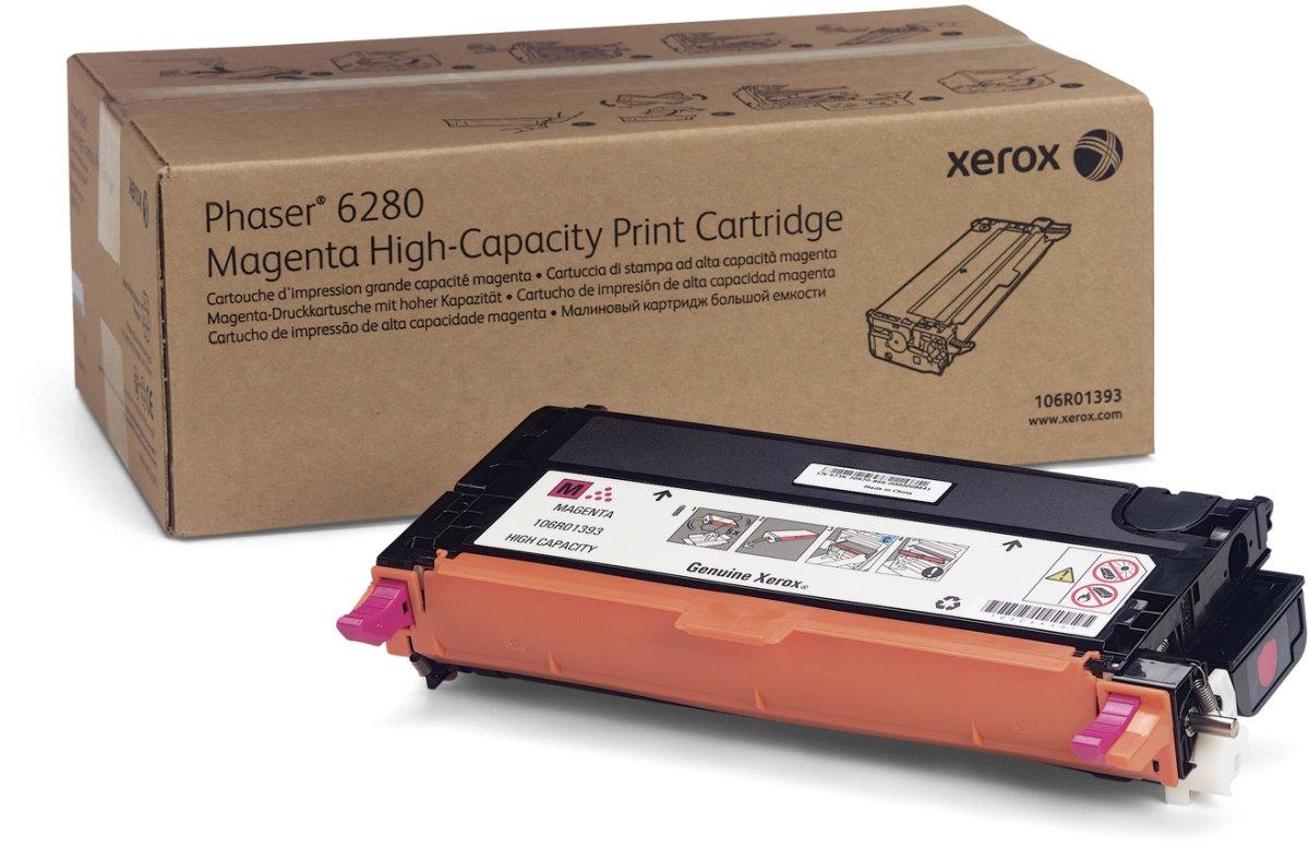 Xerox 106R01393 lasertoner, rød, 5900s