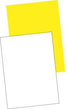 Plakatpapir 50x70 (250), hvid