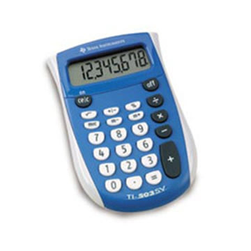 Texas Instruments TI-503SV lommeregner